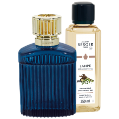 Imperial Blue Alpha Lampe Berger Gift Pack