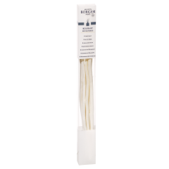 Pack of 6 natural willow sticks 27cm