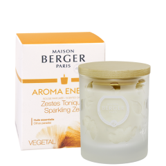 AROMA Energy Sparkling Zest Scented Candle