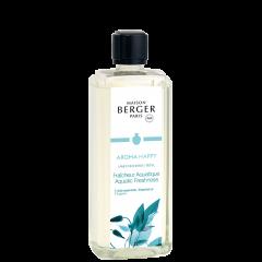 Aroma Happy Aquatic Freshness Lampe Berger Refill 1L