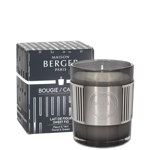 Black Amphora Scented Candle