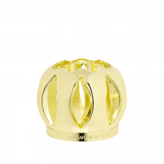Shiny gold ball-shaped mounting